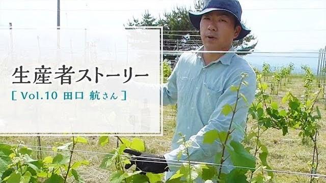 生産者ストーリー Vol.10 田口 航さん